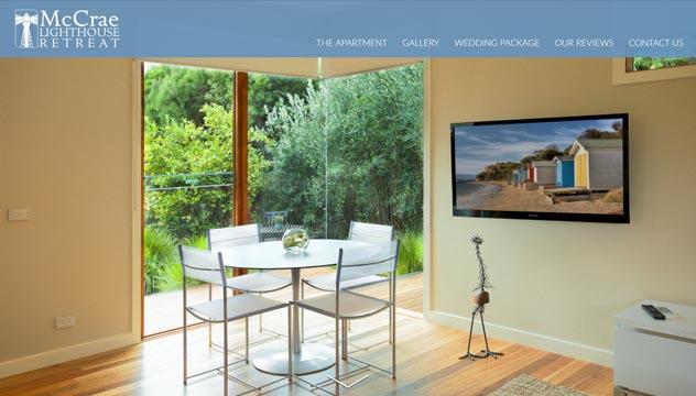 McCrae Lighthouse Website Developer, Design and Concept, Brighton shop